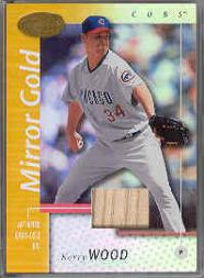 2002 Leaf Certified Mirror Gold #124 Kerry Wood Bat