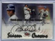 2002 Fleer Triple Crown Season Crowns Autographs #SCDJ Derek Jeter/160