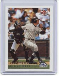 2002 Fleer Triple Crown #83 Todd Helton