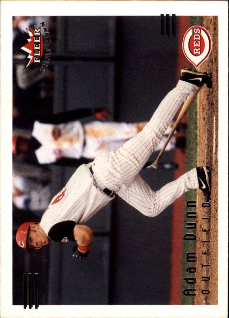2002 Fleer Triple Crown #195 Adam Dunn