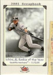 2002 Fleer Triple Crown #245 Ichiro Suzuki SB