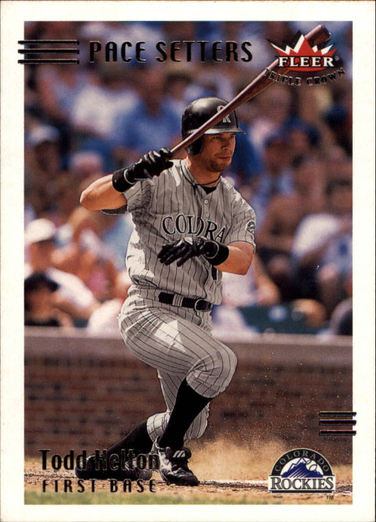 2002 Fleer Triple Crown #251 Todd Helton PS
