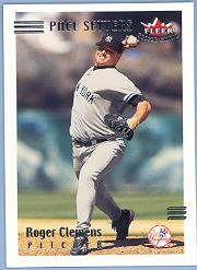2002 Fleer Triple Crown #264 Roger Clemens PS