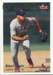 2002 Fleer Triple Crown #268 Albert Pujols PS