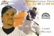 2002 Fleer Premium International Pride #1 Larry Walker