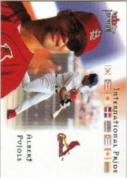 2002 Fleer Premium International Pride #2 Albert Pujols front image