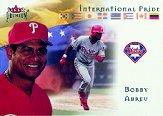 2002 Fleer Premium International Pride #9 Bobby Abreu