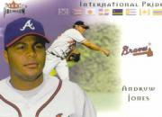 2002 Fleer Premium International Pride #13 Andruw Jones