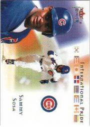 2002 Fleer Premium International Pride #14 Sammy Sosa