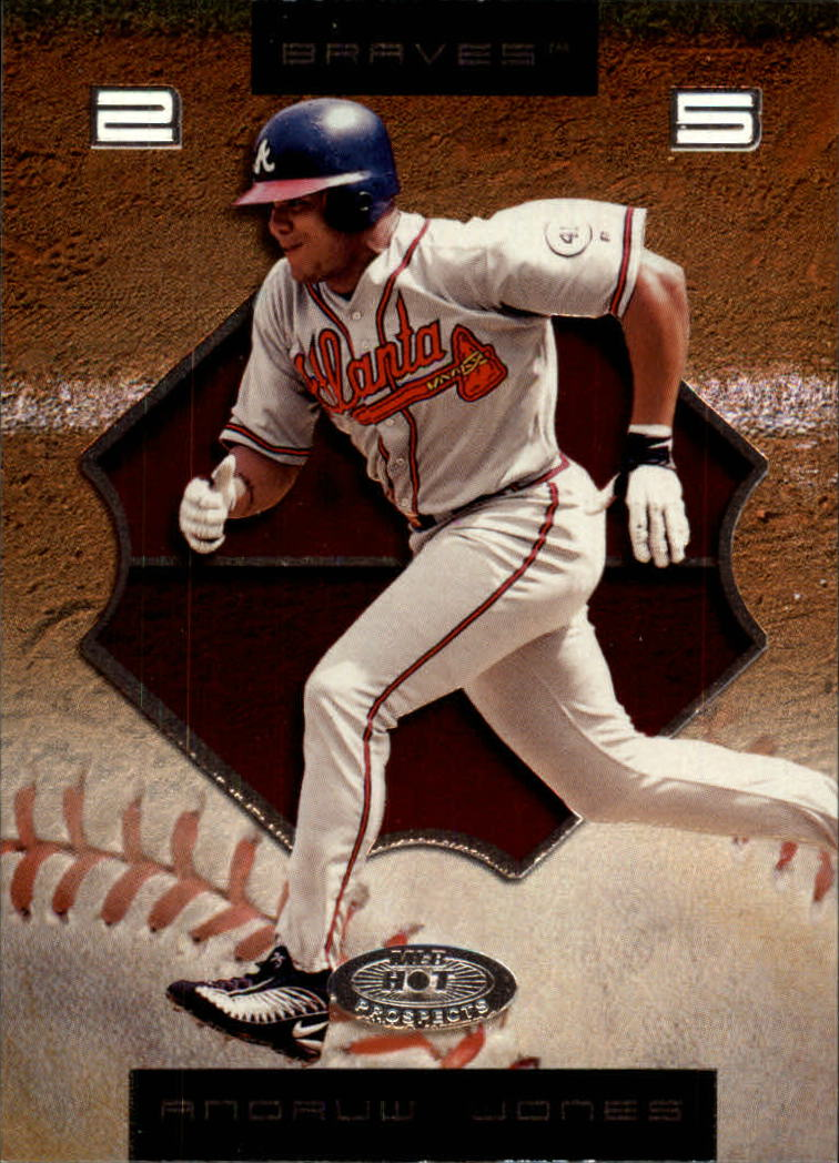 2002 Hot Prospects #6 Andruw Jones