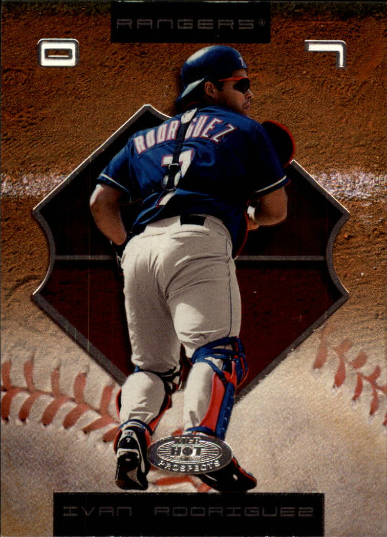 2002 Hot Prospects #7 Ivan Rodriguez