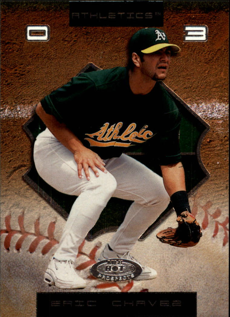 2002 Hot Prospects #40 Eric Chavez