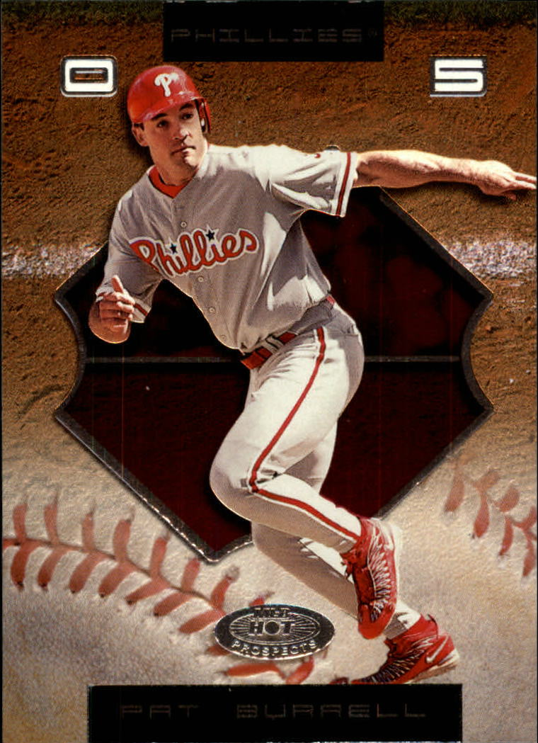 2002 Hot Prospects #58 Pat Burrell