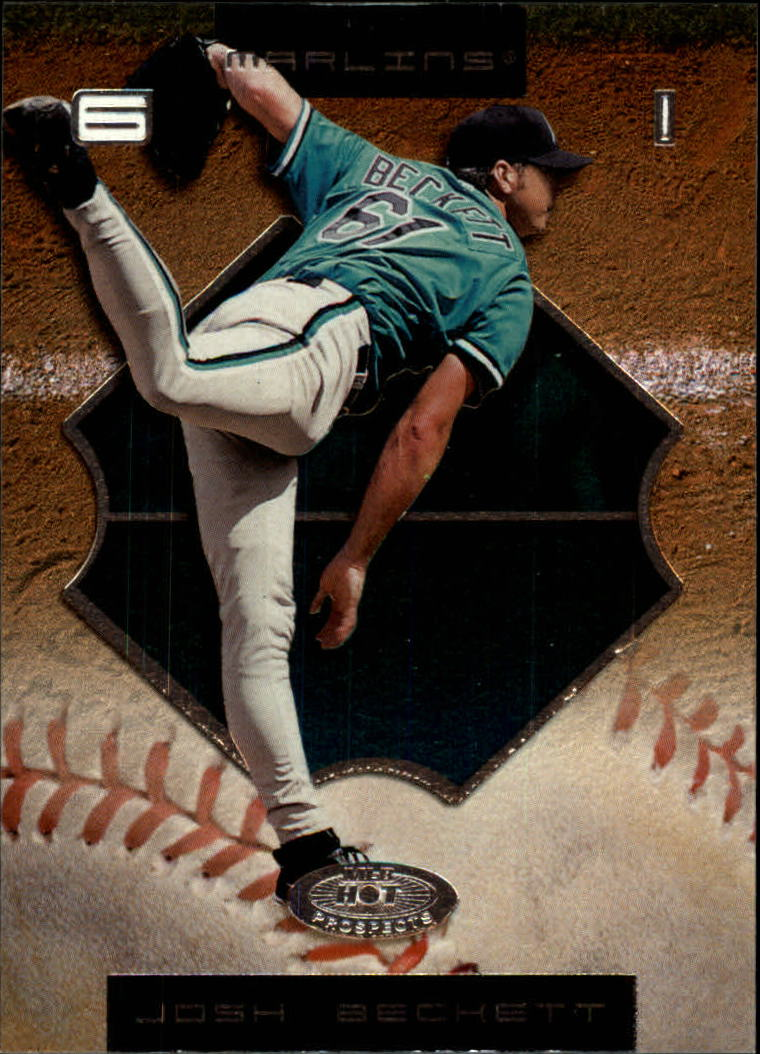 2002 Hot Prospects #66 Josh Beckett