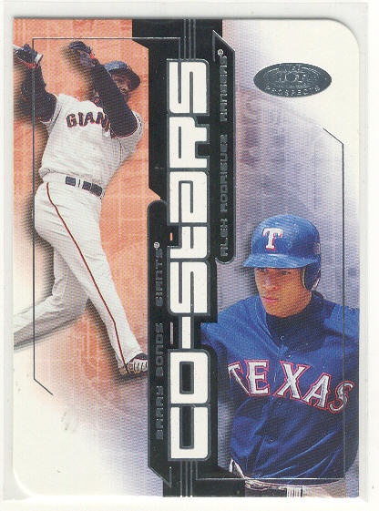 2002 Hot Prospects Co-Stars #1 B.Bonds/A.Rodriguez