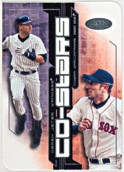 2002 Hot Prospects Co-Stars #2 D.Jeter/N.Garciaparra