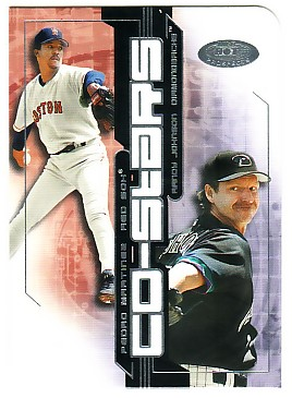 2002 Hot Prospects Co-Stars #5 P.Martinez/R.Johnson