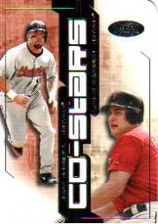 2002 Hot Prospects Co-Stars #8 J.Bagwell/L.Berkman