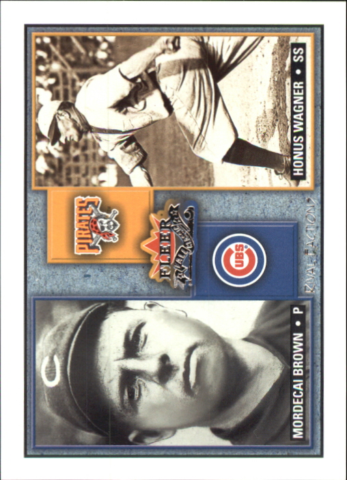 2002 Fleer Fall Classics Rival Factions #5 M.Brown/H.Wagner