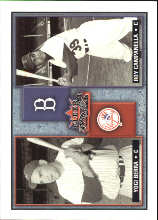 2002 Fleer Fall Classics Rival Factions #13 Y.Berra/R.Campanella