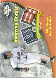 2002 Fleer Box Score Amazing Greats #3 Mike Piazza