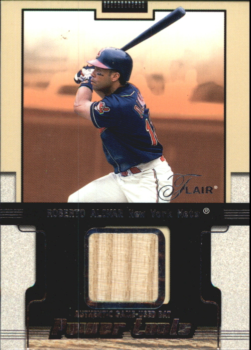 2002 Flair Power Tools Bats #1 Roberto Alomar