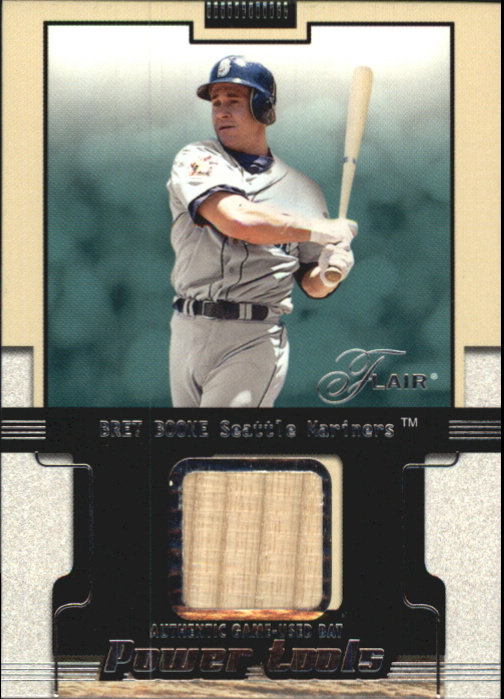 2002 Flair Power Tools Bats #5 Bret Boone *