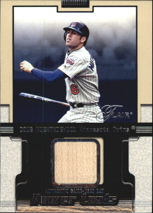 2002 Flair Power Tools Bats #14 Doug Mientkiewicz