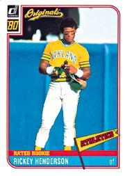 2002 Donruss Originals What If 1980 #1 Rickey Henderson RR