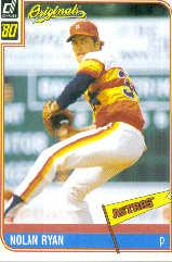 2002 Donruss Originals What If 1980 #18 Nolan Ryan