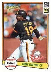 2002 Donruss Originals What If Rookies #4 Tony Gwynn 82