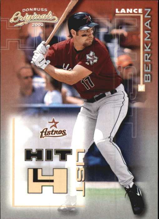2002 Donruss Originals Hit List #19 Lance Berkman