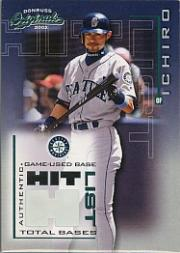 2002 Donruss Originals Hit List Total Bases #1 Ichiro Suzuki Base/316