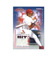 2002 Donruss Originals Hit List Total Bases #8 Albert Pujols Base/360