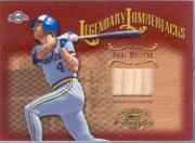 2002 Donruss Classics Legendary Lumberjacks #13 Paul Molitor/500