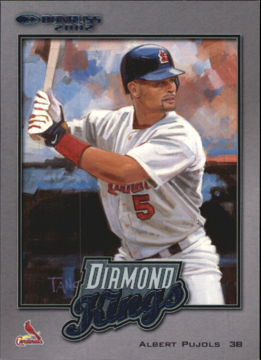 2002 Donruss Diamond Kings Inserts #17 Albert Pujols