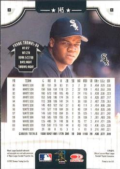 2002 Donruss #145 Frank Thomas back image