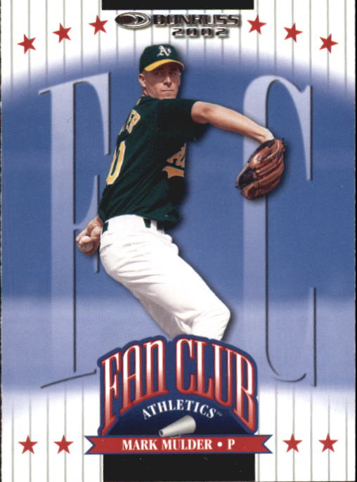 2002 Donruss #214 Mark Mulder FC