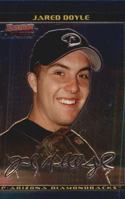 2002 Bowman Chrome Draft #22 Jared Doyle RC