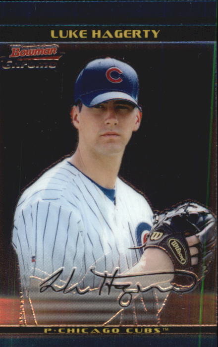 2002 Bowman Chrome Draft #32 Luke Hagerty RC