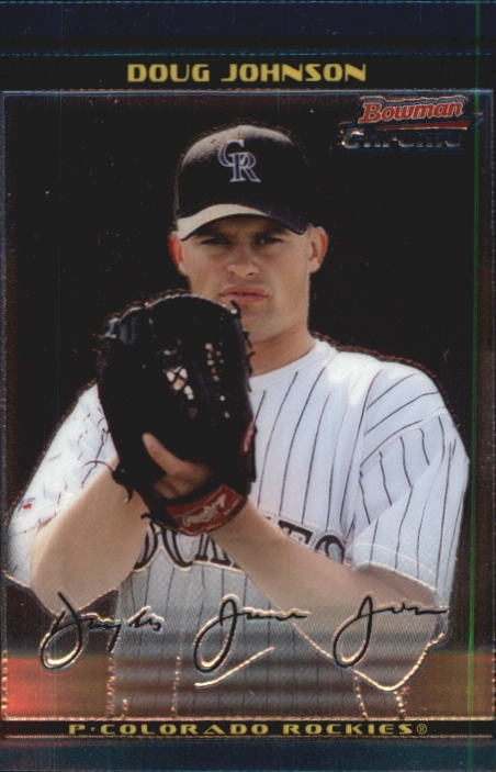 2002 Bowman Chrome Draft #36 Doug Johnson RC