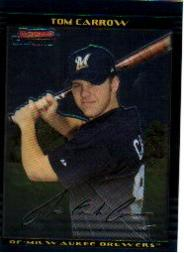2002 Bowman Chrome Draft #40 Tom Carrow RC