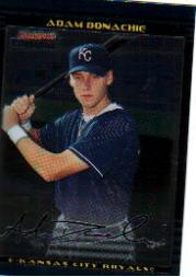 2002 Bowman Chrome Draft #47 Adam Donachie RC