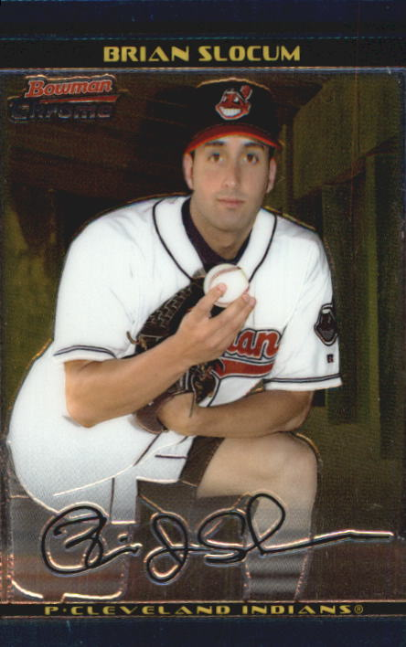 2002 Bowman Chrome Draft #63 Brian Slocum RC