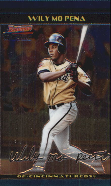 2002 Bowman Chrome Draft #163 Wily Mo Pena