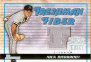 2002 Bowman Draft Freshman Fiber #NB Nick Bierbrodt Jsy