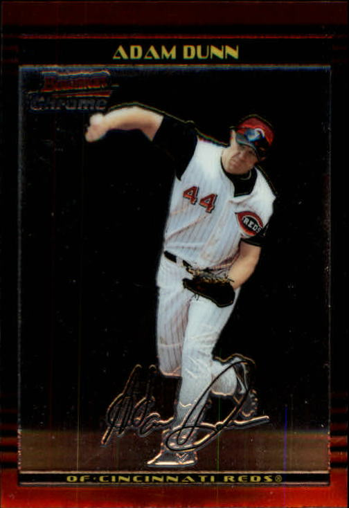 2002 Bowman Chrome #1 Adam Dunn