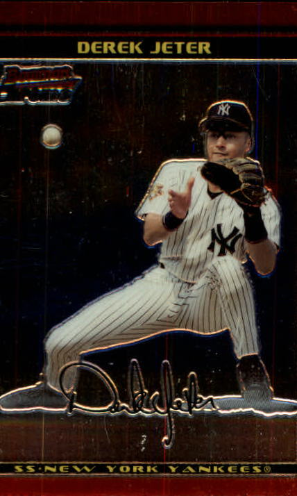 2002 Bowman Chrome #2 Derek Jeter