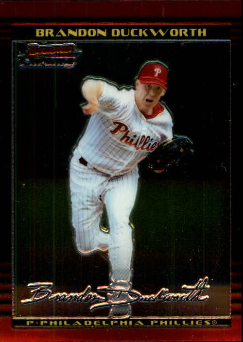 2002 Bowman Chrome #7 Brandon Duckworth