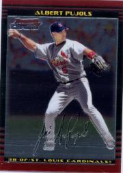 2002 Bowman Chrome #15 Albert Pujols